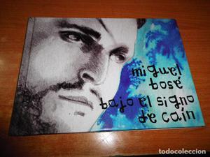 MIGUEL BOSE Bajo el signo de Cain CD ALBUM LIBRO COLECCION