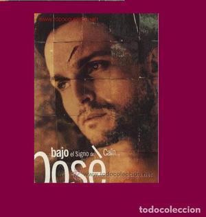 MIGUEL BOSE LP  Bajo el signo de Cain CON ENCARTE