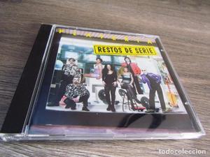 ORQUESTA PLATERIA CD Restos de Serie 15 temas
