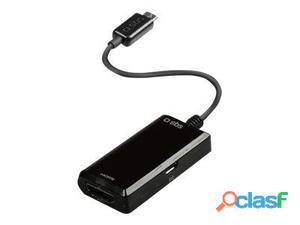 SBS adaptador de vídeo / audio - MHL / HDMI - 10 cm