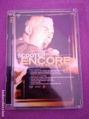 SCOOTER ENCORE LIVE IN CONCERT 2DVD TECHNO H.P. BAXXTER