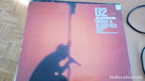 U2 LIVE UNDER A BLOOD RED SKY LP SPAIN