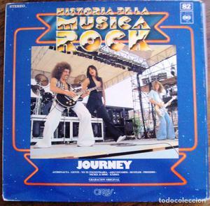 Vinilo Historia de la musica rock numero 82 Journey