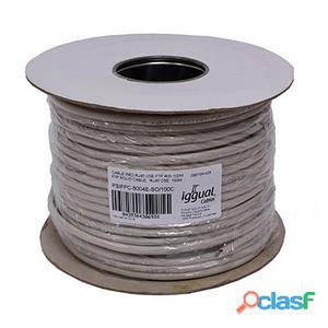 iggual Bobina Cable RJ45 CAT5 FTP Rig. 100Mts