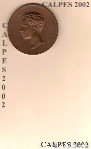 ALFONSO XIII  MEDALLA DE PROCLAMACIÓN Y JURA (BRONCE)