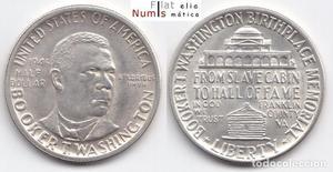 ESTADOS UNIDOS - 1/2 DOLAR - - BOOKER T. WASHINGTON -