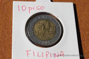 FILIPINAS 10 PISO