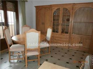 Muebles salón de madera maciza