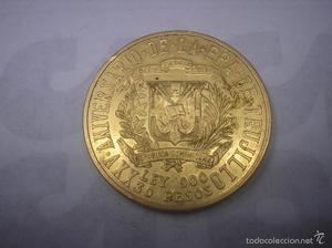 REPUBLICA DOMINICANA. 30 PESOS DE ORO DE . TRUJILLO