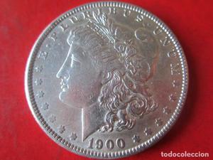 Un dollar de plata. Estados Unidos