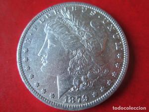 Un dollar de plata. Estados Unidos  - O
