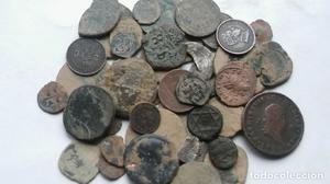 lote 55 monedas de todas las epocas