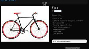 Bicicleta Moma Fixie