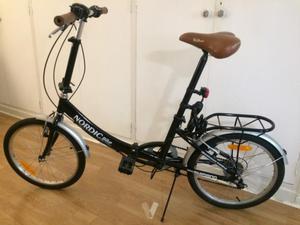 Bicicleta plegable Shimano Nordic