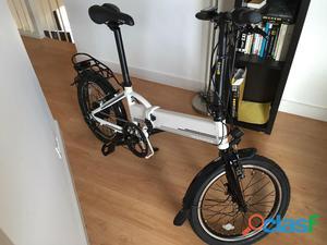 Vendo bicicleta eléctrica plegable nueva