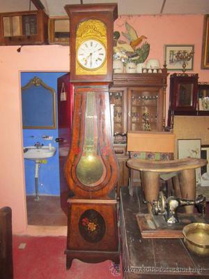 Antiguo reloj Moretz en su caja. De principios del s. XIX.