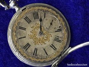 Reloj de bolsillo robert roskell posot class - Reparacion relojes antiguos valencia ...