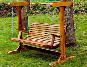Sillon y banco de madera para jardin posot class - Banco de jardin ...