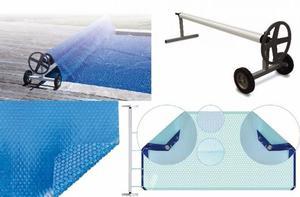Manta T Rmica Solar Cobertor De Piscina Enrollador Posot