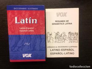 DICCIONARIO ILUSTRADO LATINO ESPAÑOL, VOX