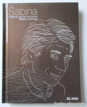DISCO LIBRO JOAQUÍN SABINA, FISICA Y QUIMICA, PALABRAS