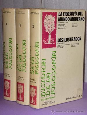 HISTORIA DE LA FILOSOFÍA.- Ideas, Doctrinas (Tomos II, III