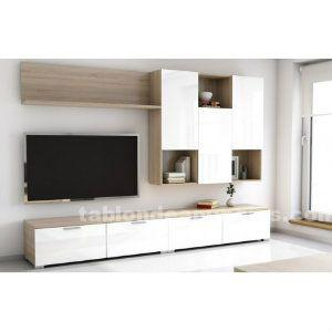 Tableros aglomerado melamina blanca barcelona posot class for Mueble modular blanco