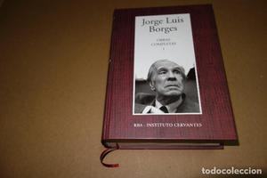 Obras completas, tomo 1 - Borges, Jorge Luis