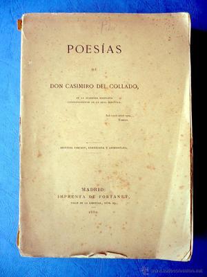 POESÍAS DE CASIMIRO DEL COLLADO (LIENDO-CANTABRIA) MADRID