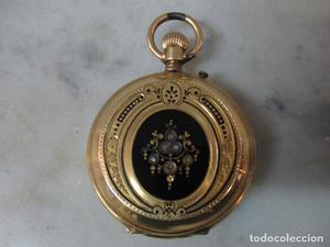 Reloj de Bolsillo - Señora - Oro 18 K - Paul Boch - Geneve