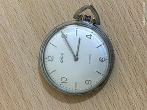 Reloj de pared carga manual y pendulo vintage posot class - Reloj pegado pared ...