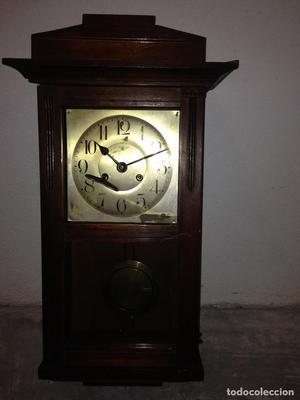 antiguo reloj de pared marca alemana kienzle uhren funcciona