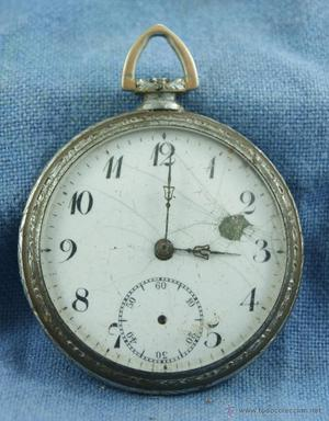 reloj BOLSILLO PARA DECORAR