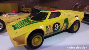 2 coches scalextric de los 70