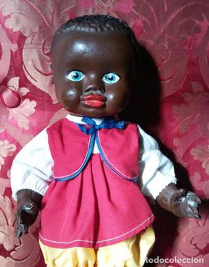 Antigua muñeca, antiguo muñeco, negra negrita,