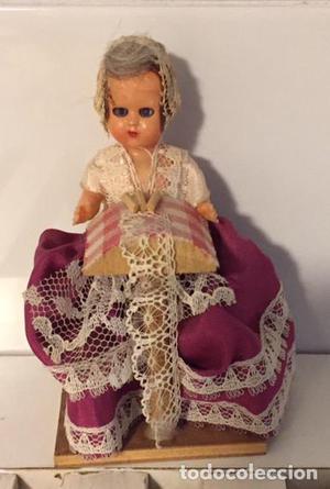 Antigua muñeca celuloide