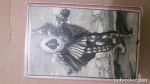 BARAJA BURLESCA, ALEMANIA, SIGLO XVII, FASCIMIL, 52 NAIPES