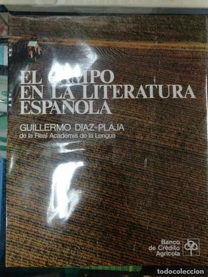 CAMPO EN LA LITERATURA ESPAÑOLA A ESTRENAR DIAZ PLAJA