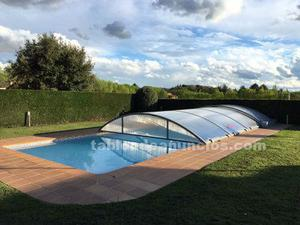 Cubierta piscina automatica abrisud