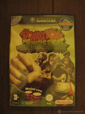 DONKEY KONG - JUNGLE BEAT - NINTENDO GAMECUBE.