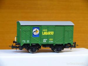 ELECTROTREN H0 Vagón cerrado unificado *Jabón LAGARTO*,