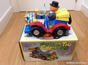 El auto del tio Calambres
