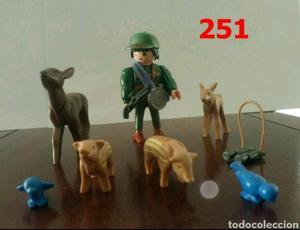Guarda Forestal Playmobil