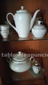 Juego de cafe de porcelana italiana