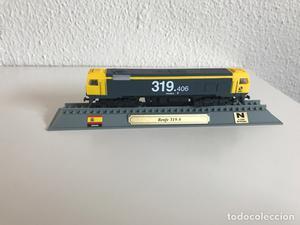 Locomotora tren español Talgo
