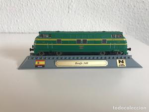 Locomotora tren español Talgo 340