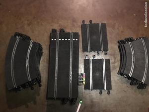 Lote de 23 pistas de scalextric scx y de pistas Hornby