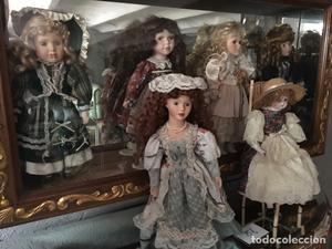 Lote de 6 Muñecas de porcelana