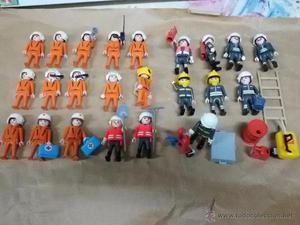 Lote playmobil REscate, bomberos, medicos...