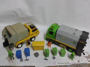 Playmobil camiones de basura